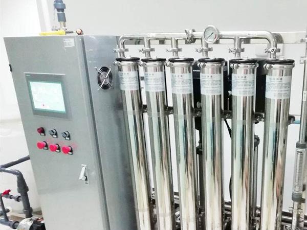 纯化水机确认验证
