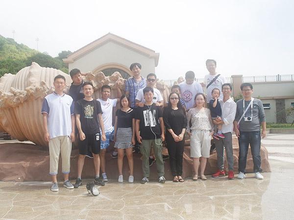 嵊泗岛团建活动3