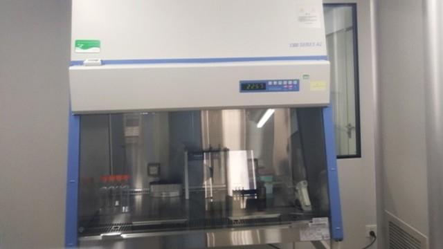 生物安全柜的柜体结构和气流模式检测